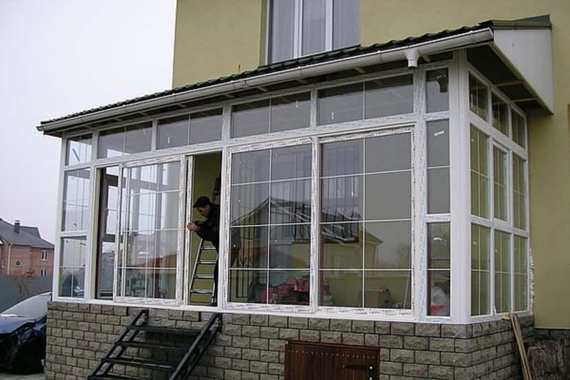 Окна для террасы / окна на веранду.